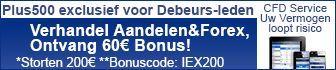 Verhandel Aandelen&Forex, Ontvang 60 euro bonus!