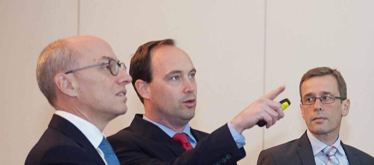 Antoine Lesné, Stephen Marsh en Eelco Ubbbels
