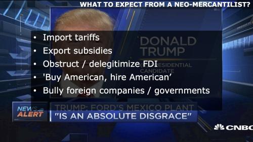 Neomarcantilist Trump