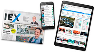 IEX Magzine, app en website