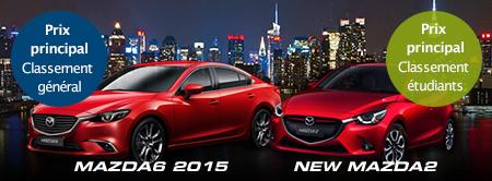 Mazda6 2015 et New Mazda2
