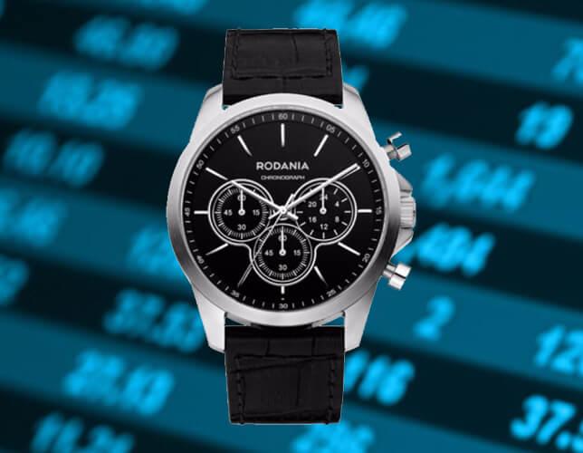 Une montre élégante Rodania