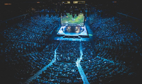 Een uitverkochte Madison Square Garden voor de League of Legends finale