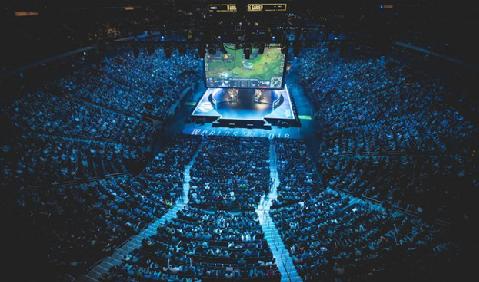Een uitverkochte Madison Square Garden voor de League of Legends finale