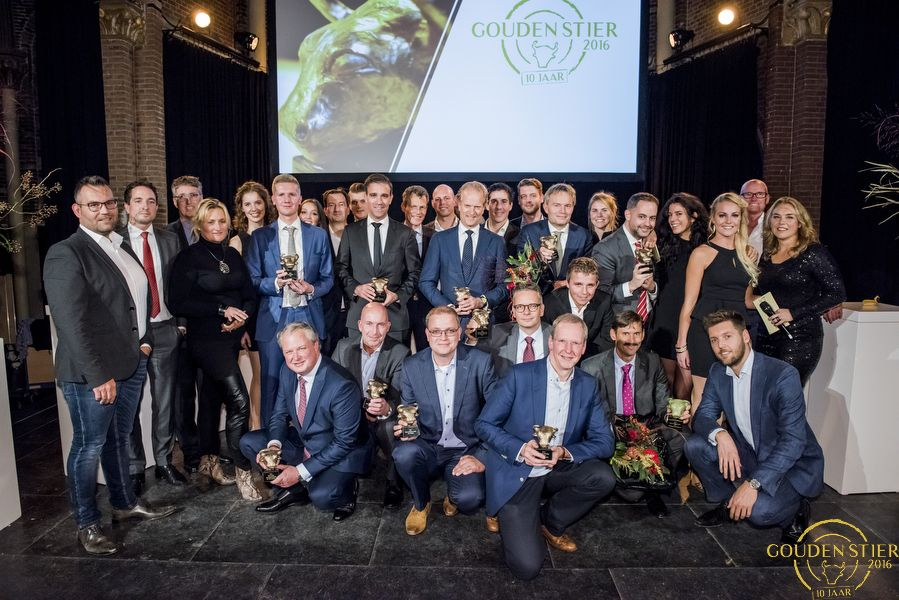Video: Bas Heijink, Evi, NN IP en Care IS winnaars Gouden Stier 2016
