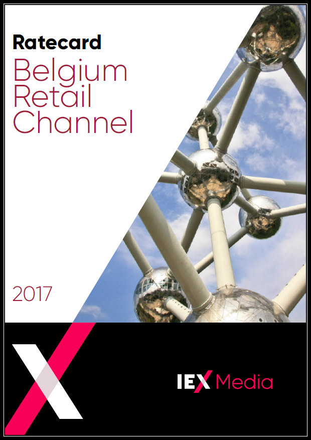 IEX Belgium Channel Ratecard