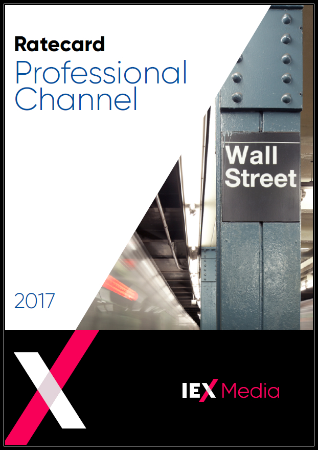 IEX Professional Channel Ratecard