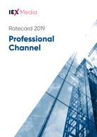 IEX Professional Channel Ratecard