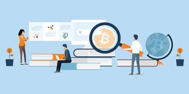 Afbeelding van crypto belegger