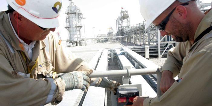 Een derde oliebedrijven op omvallen
