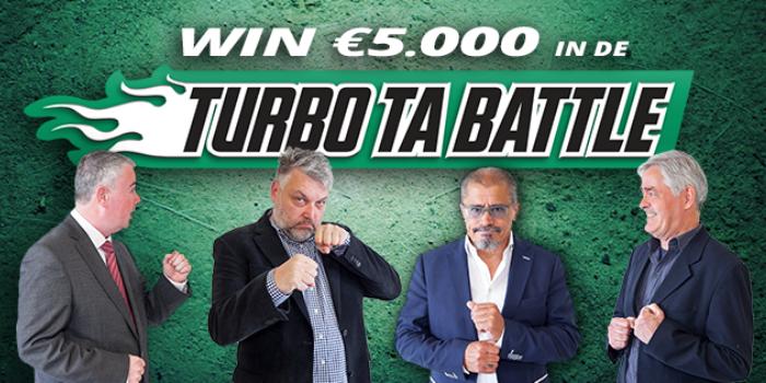 Wie mag zich de eerste Turbo TA-weekwinnaar noemen?