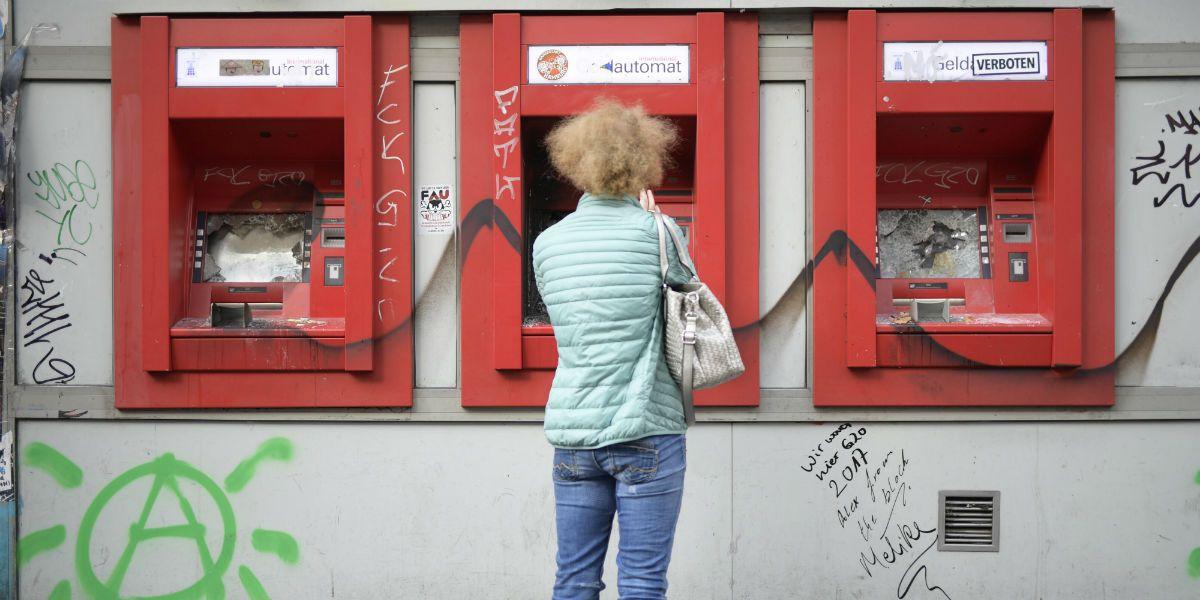 Duitse banken mogen ETH of bitcoin via geldautomaten omruilen