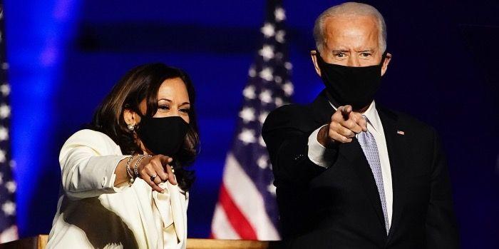 Beleggers zijn blij met Joe Biden