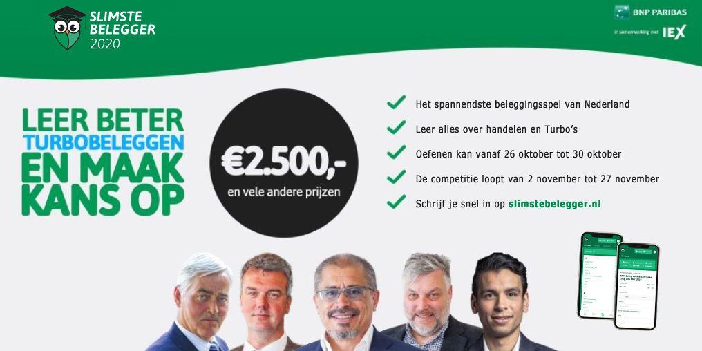 Doe mee met de Slimste Belegger 2020!