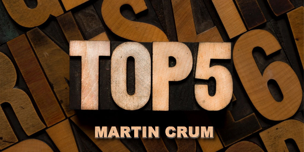 Vijf favorieten voor 2021: Martin Crum