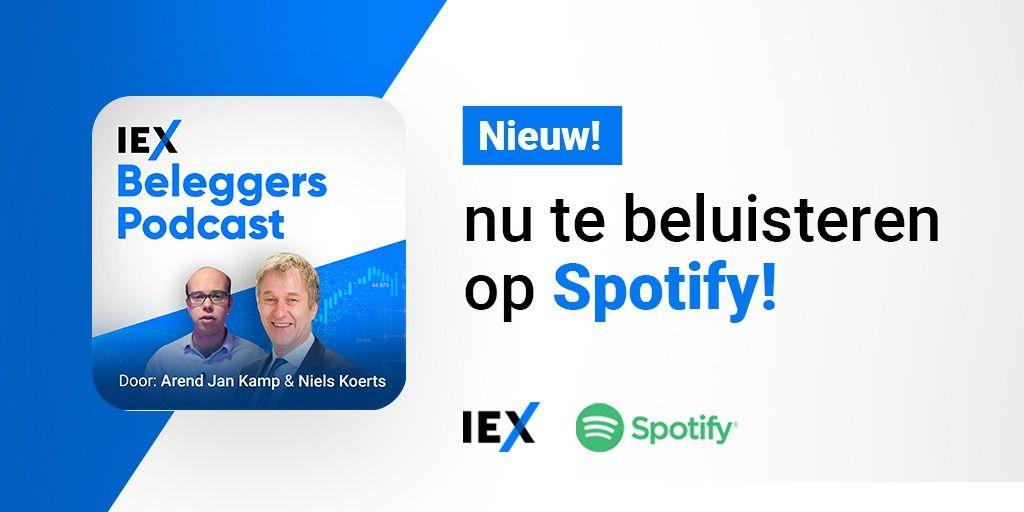Nieuw: IEX Beleggerspodcast