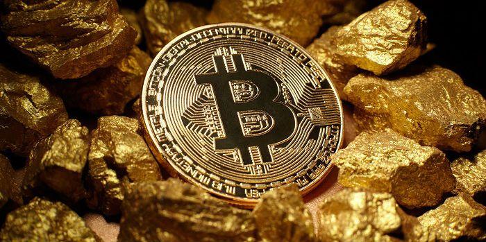 Goud, zilver en bitcoin