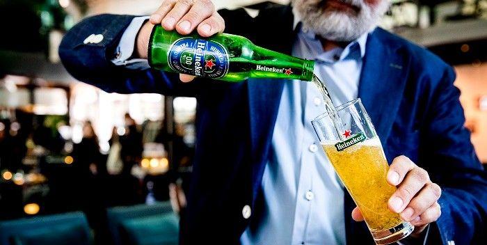 Spanning op de Heineken-chart