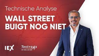 TA intraday: Wall Street buigt nog niet