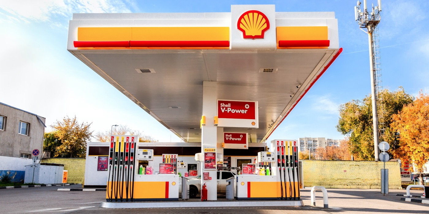 Shell mist gouden PR-kans