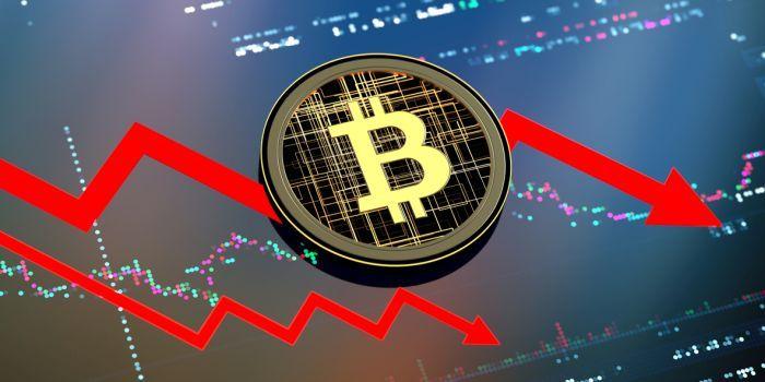 Donkere wolken pakken zich samen boven bitcoin