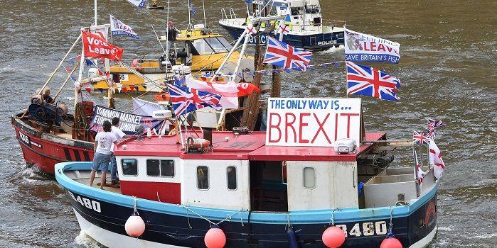 Brexit doet oude glorie herleven op het Damrak