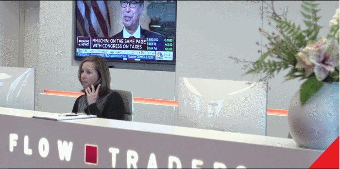 Bank of Montreal flink kleiner in Flow Traders