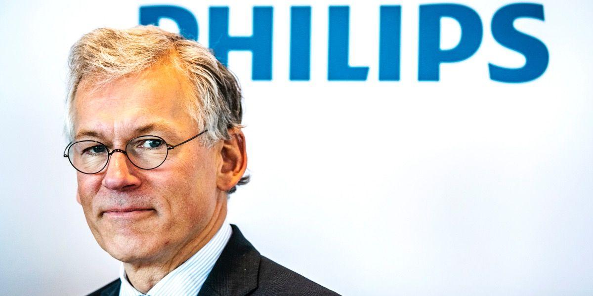 """""""Philips wordt steeds meer een databedrijf"""""""