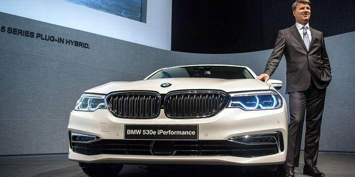 Sterke winstgroei BMW