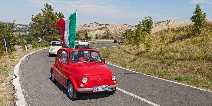 Fiat-rijders trekken een sprintje