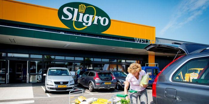 Sligro houdt het niet droog