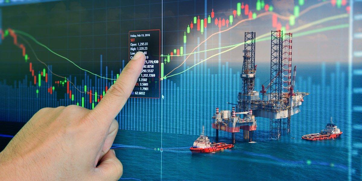 Olieprijs daalt licht