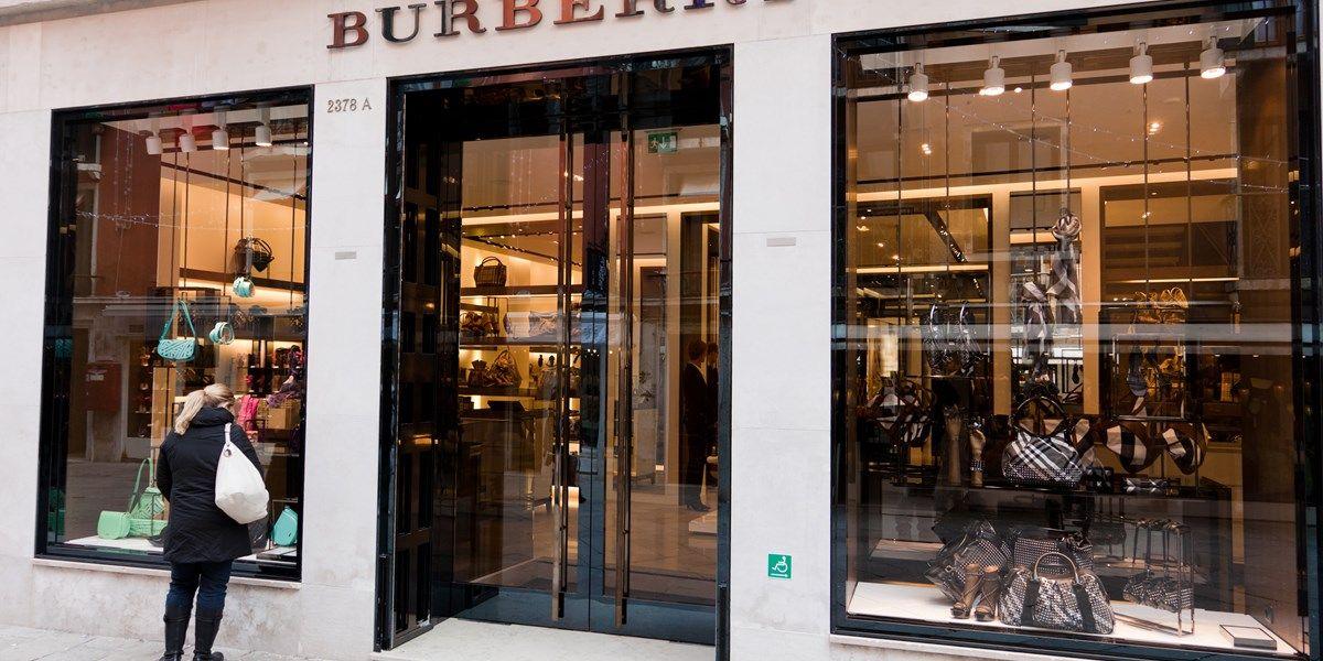 Burberry ziet krachtig herstel