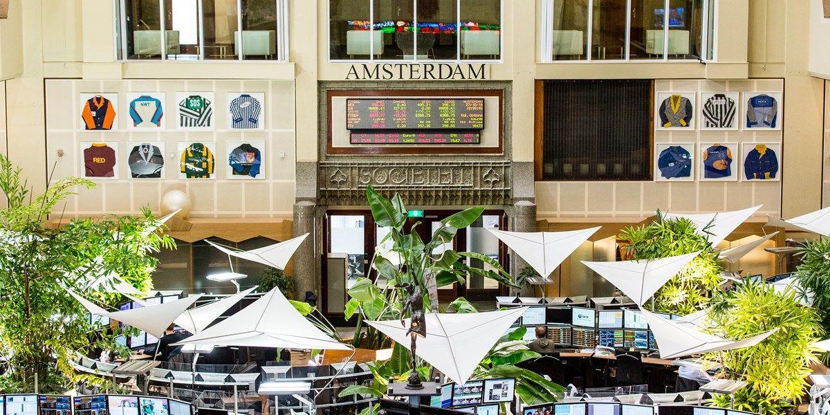 Beursupdate: beperkte verliezen in Amsterdam