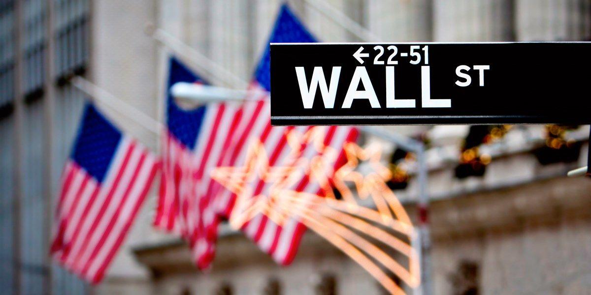 Tech lager op groen Wall Street
