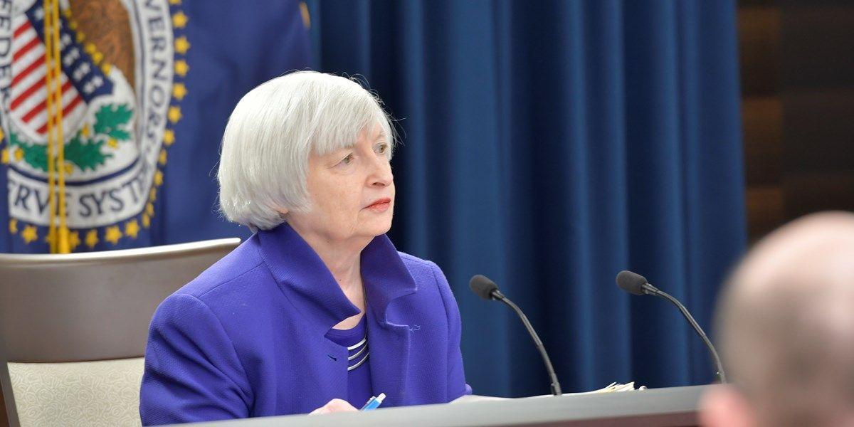 Valuta: Yellen praat dollar omhoog
