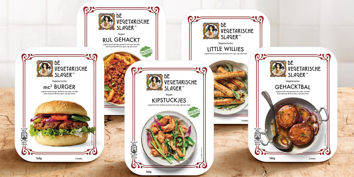 Unilever komt met nieuwe plantaardige vleesproducten