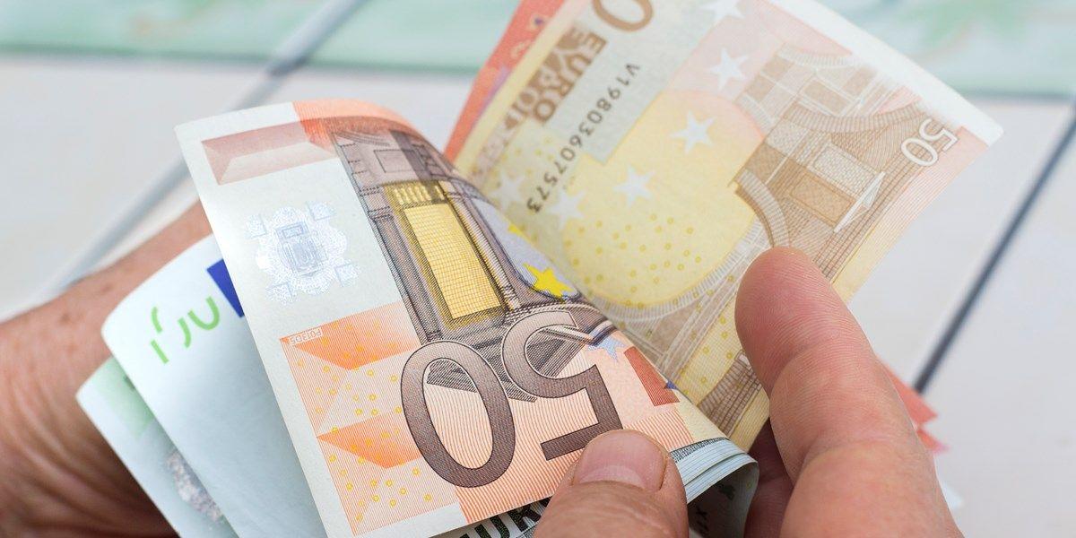 Valuta: euro weert zich kranig