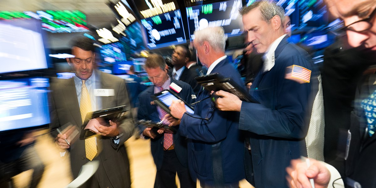 Wall Street vlak van start