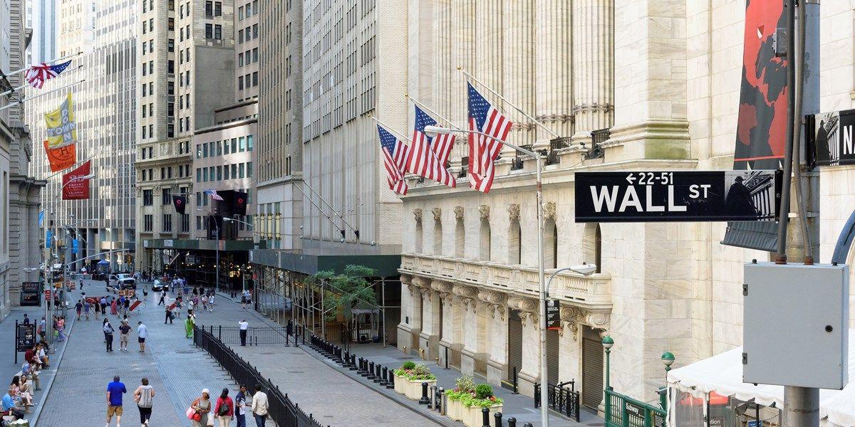 Wall Street vlak gesloten