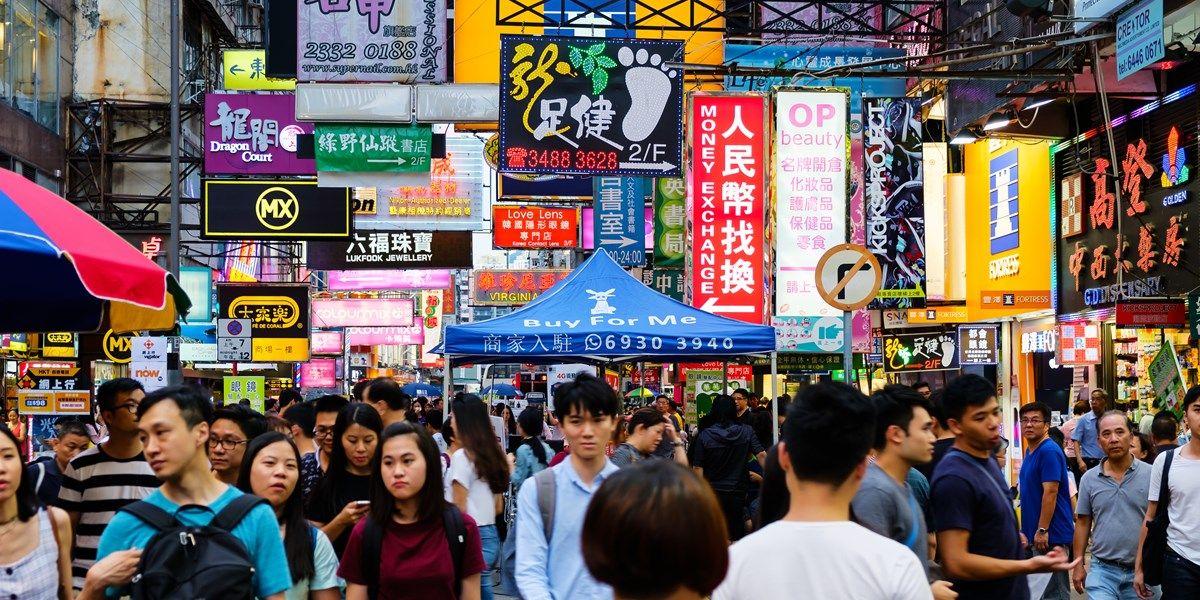 Chinese detailhandelsverkopen stijgen minder hard