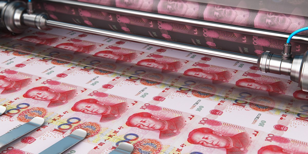 Chinese centrale bank pompt miljarden in systeem