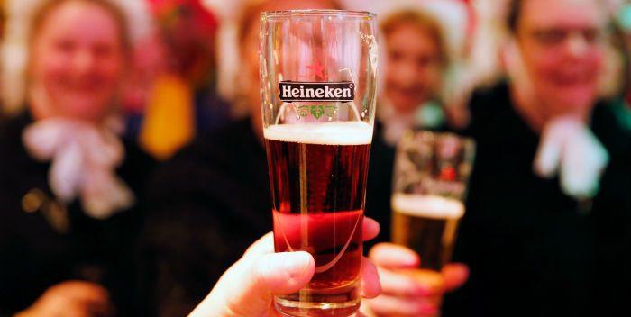 Biervolumes fors onder druk bij Heineken