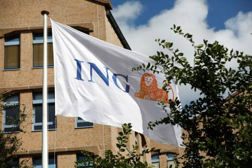 Stevige winstval voor ING