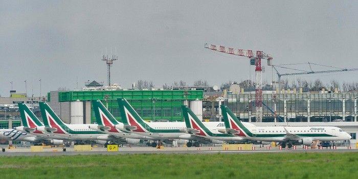 'Italië wil controle bij Alitalia overnemen'