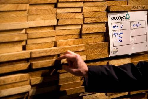 Verkopen houtbedrijf Accsys blijven herstellen