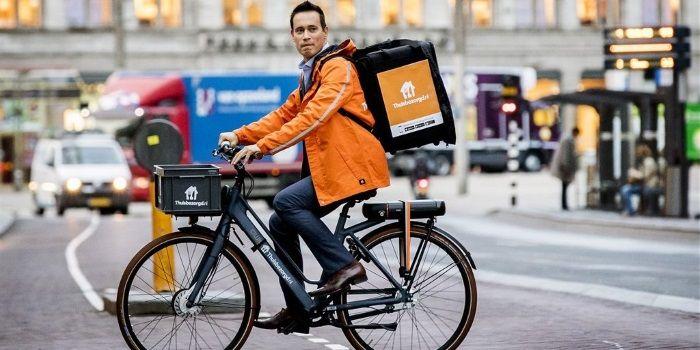 'Beleggers bezorgd over vertrek Just Eat Takeaway naar Londen'