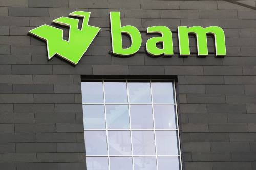 Bouwer BAM sluit 2020 af met verlies van 122 miljoen euro