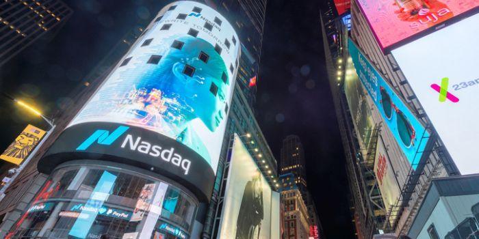 Techbeurs Nasdaq speelt jaarwinst kwijt na nieuwe verliesbeurt