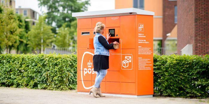 PostNL laat pakketjes afhalen bij robotautomaat in Utrecht